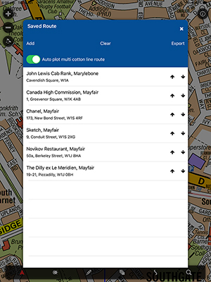 Cabbie's Mate / iOS / iPad App / Screenshot (03)